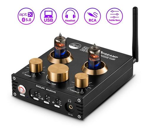Imagem 1 de 3 de Pré Amp P1 Hifi Bluetooth 5.0 Vacuum Tube Usb Dac Aptx