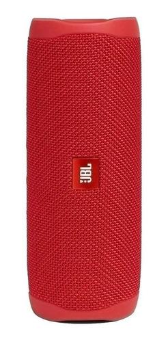 Imagen 1 de 8 de Parlante Bluetooth Jbl Flip 5 Rojo 110v/220v Ipx7