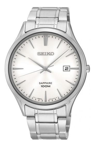 Reloj Seiko Sgeg93 Acero Inoxidable Dial Zafiro 100m Fecha