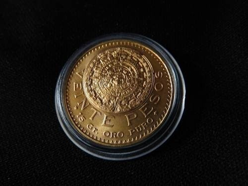 $20 Pesoss De Oro Centenario Moneda 22k