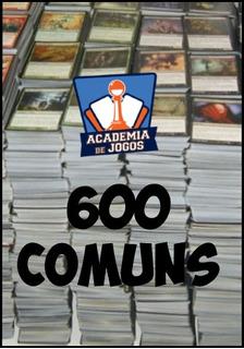 Bulk - 600 Cartas Comuns De Magic: The Gathering