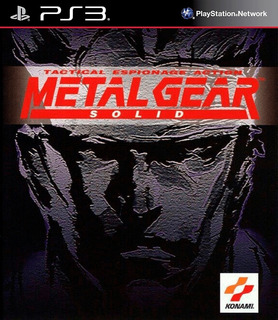 Metal Gear Solid (ps One® Classic) Ps3 Digital Español Gcp