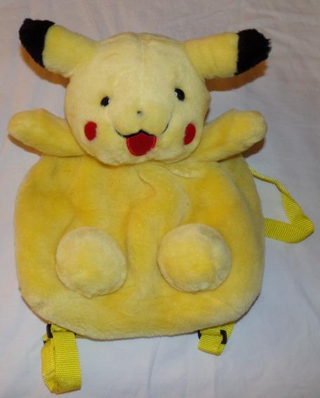 Mochila De Peluche Pikachu Pokemon