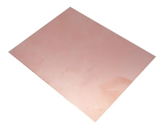 Placa Cobre 15x15 Pertinax Simple Faz Pcb Plaqueta 15 X 15