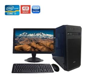 Computador Completo Core I3-2120 4gb Hd 500gb Dvd/rw + Wi-fi