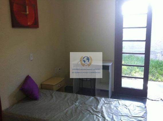 Kitnet Com 1 Dormitório Para Alugar, 15 M² Por R$ 670,00/mês - Cidade Universitária - Campinas/sp - Kn0019