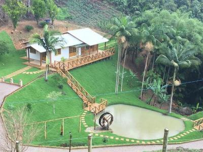 Chácara Rural À Venda, Vila Nova, Águas Mornas. - Codigo: Ch0025 - Ch0025