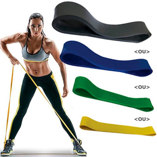 Faixa Elastica Rubber Band Mini Band Pilates Fisioterapia