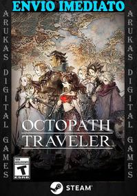 Octopath Traveler Pc Original Steam + Brinde