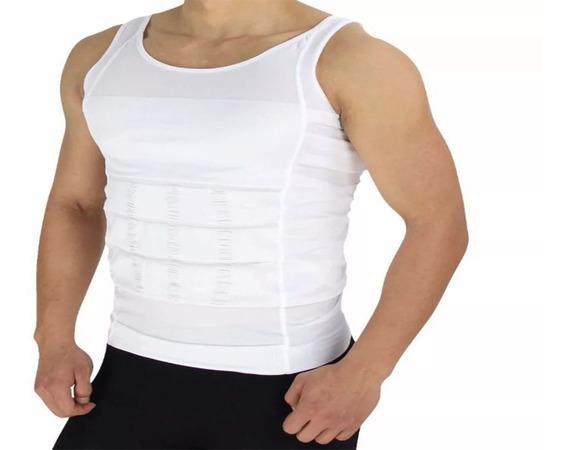 Camiseta Faja Reductora Moldeadora Playera Hombre Reduce!!!
