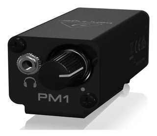Amplificador De Auriculares Behringer Powerplay Pm1 Monitor 3.5mm