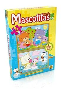 Puzzle Infantil Mascotitas X2 8 Y 12 Piezas Implás 22