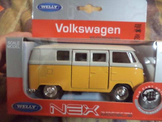 Combi Bus Volkswagen Welly Esc1:32