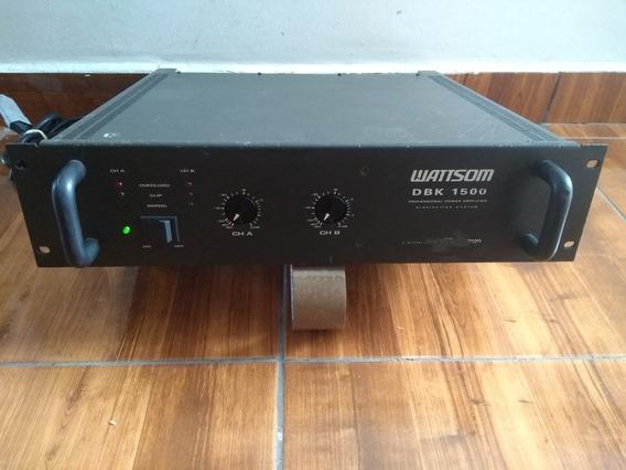 Potencia Wattson Dbk-1500 Óriginal