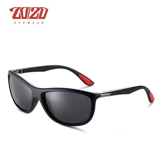 Óculos De Sol Masculino Polarizado Uv400 20/20 Pl345 Barato