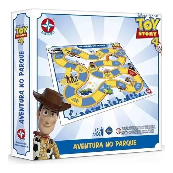 Jogo De Tabuleiro Toy Story 4 Aventuras No Parque Estrela