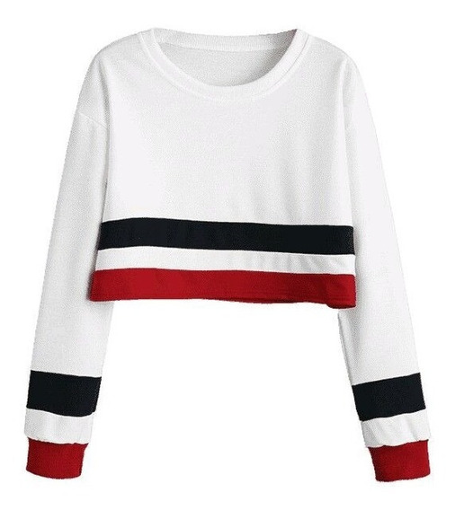 Sweaters Crop Top Juveniles De Dama