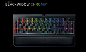 Teclado Razer Blackwidow Chroma V2 *novo