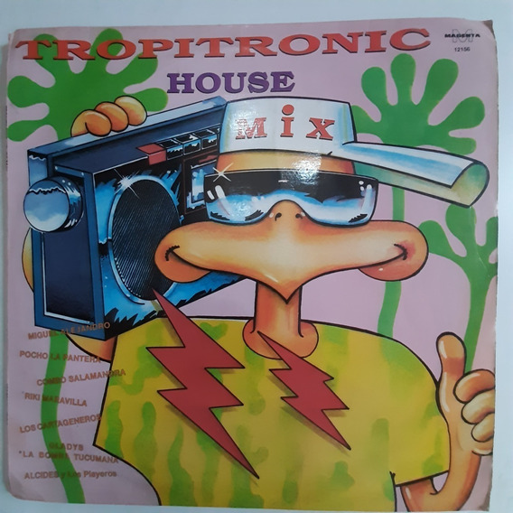 Vinilo Tropitronix House Mix C1