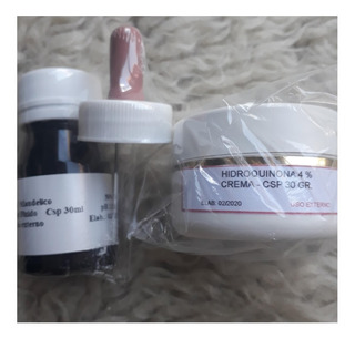 Cr Hidroquinona + Ac Mandelic0 50% Manchas Acne Melasma
