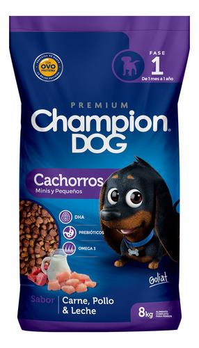 Champion Dog Cachorro Razas Pequeñas 8kg