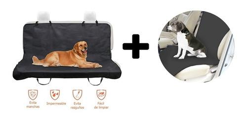 Combo 2 Forros Protector Sillas Carro Auto Mascota Perro