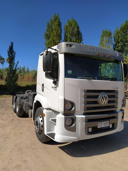 Camión Tractor Vw Constellation 280 Con Toma De Fuerza