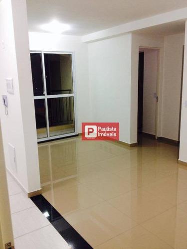 Apartamento Para Alugar, 55 M² Por R$ 2.200,99/mês - Vila Andrade (zona Sul) - São Paulo/sp - Ap13363