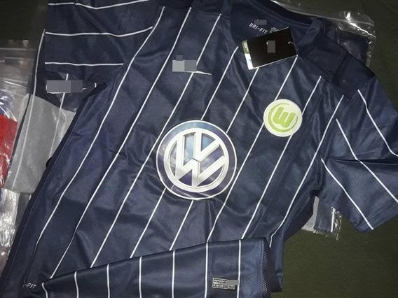 Camiseta Wolsburgo Bundesliga Alemania