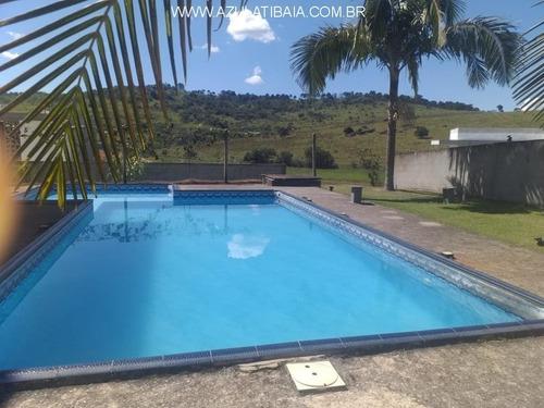 Imagem 1 de 21 de Casa Em Atibaia, Condomínio Figueira Garden - Ca01283 - 32663025