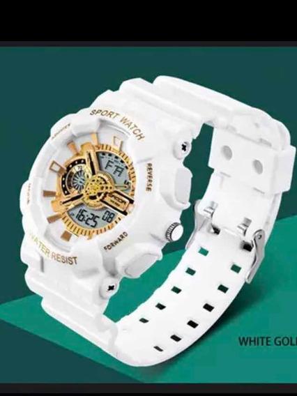 Relógio Masculino Branco