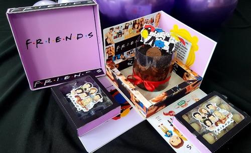 Festa Na Caixa Explosão Friends