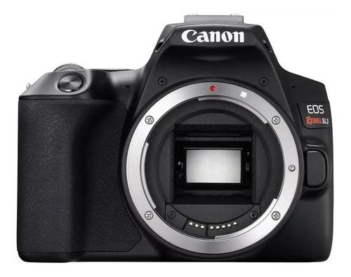 Canon EOS Rebel SL3 DSLR color  negro