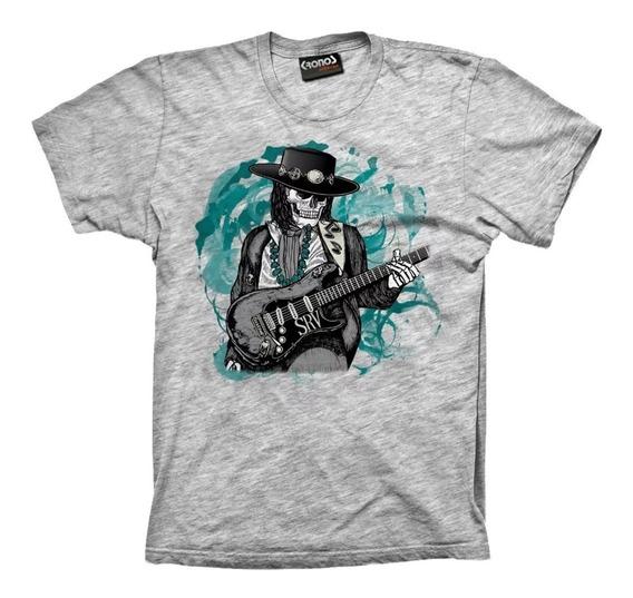 Remeras Stevie Ray Vaughan Rock Blues Guitarra Srv M.026