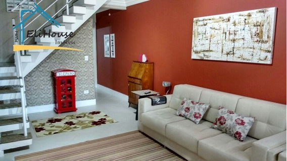 Eli House Imóveis - Sobrado - Valparaíso - Santo André - 188 M² - Ca00078 - 32784822