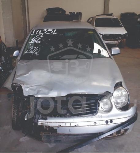 Sucata Polo 1.6 Gasolina 2003/2014 - Retirada De Peças