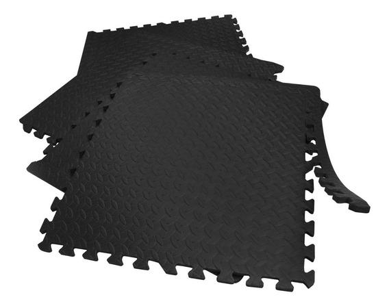 Combo 4 Paquetes De Piso Para Gimnasio 60x60cm 4 Pzas C/u