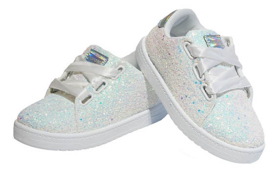 Zapatillas Proforce Glitter Brillo Fiestas Cancheras 27 34