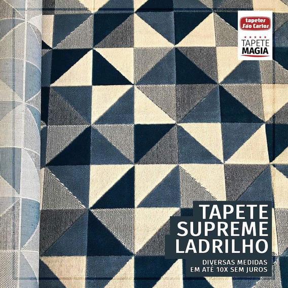 Tapete Supreme 05/43 Ladrilhos 2.5x3m 250x300cm São Carlos