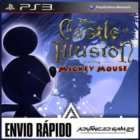Mickey Mouse Castle Of Illusion - Jogos Ps3 Midia Digital