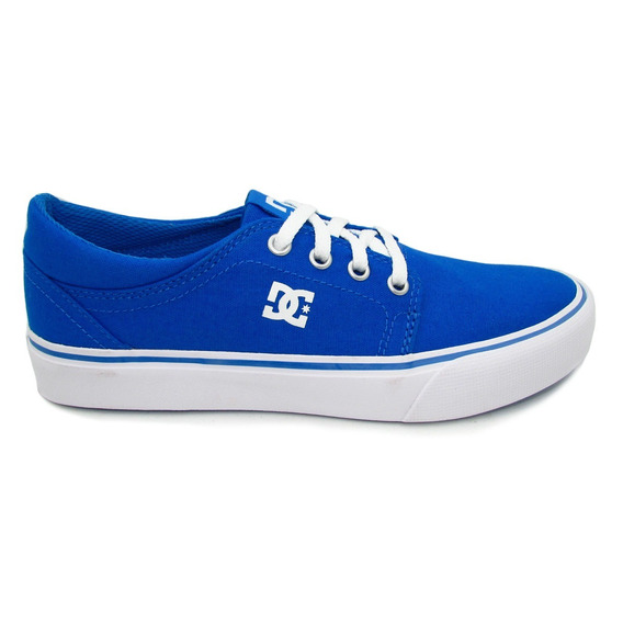 Tenis Dc Shoes Trase Tx Youth Adbs300251 445 Blue Azul
