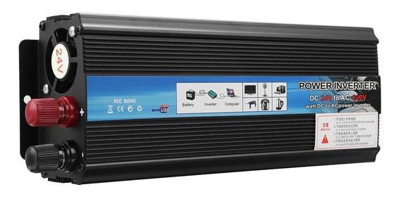 Inversor 900w-5000 Pico Conversor Entrada 12v Saida110v