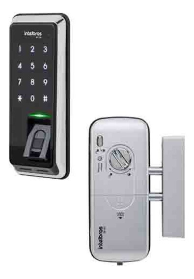 Fechadura Digital Intelbras Fr220 Senha Touch + Biometria