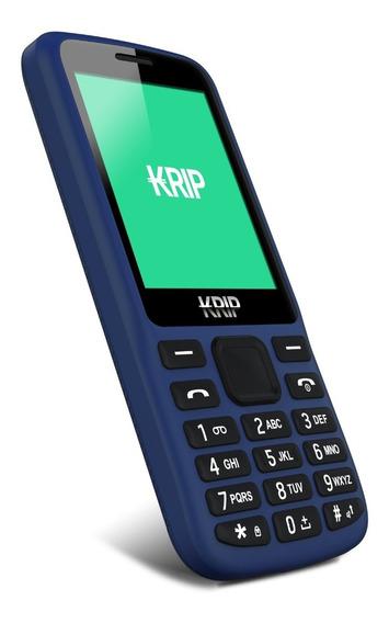 Teléfono Celular Básico Krip K2 Dual Sim 2g Camara Bluetooth