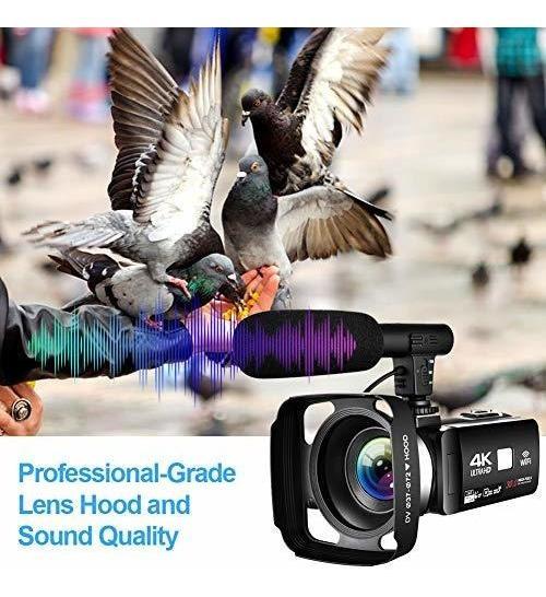 Camara Video Videocamara 4k Vlogging Para Youtube 30