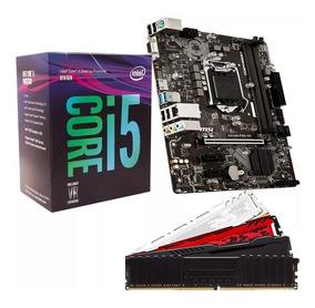 Kit 8º Geração Intel Core I5 8400 + H310m + 2x8gb