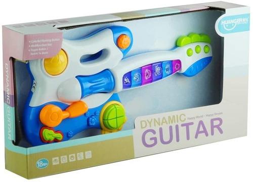 Guitarra Didactica Musical Con Luces Desde 18 Meses