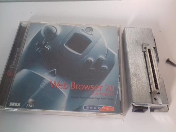 Dreamcast: Modem + Web Browser Originais