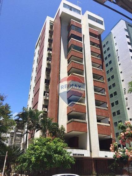 Apartamento Duplex Com 4 Dormitórios À Venda, 245 M² Por R$ 1.380.000 - Boa Viagem - Recife/pe - Ad0006