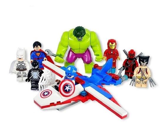 Batman Superman Hulk Agent Venom Deadpool Wolverine Iron Man